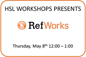 HSL Workshops - Refworks